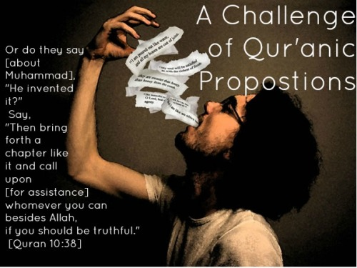 A Challange of the Quran
