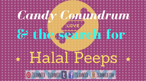 the search for halal peeps
