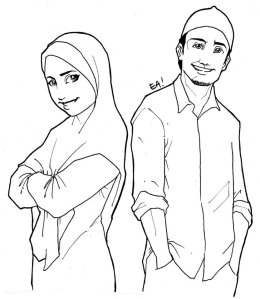 muslim_man_and_woman_by_agent_ea-d2xhuea