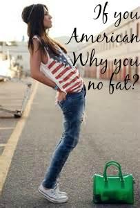 skinny American