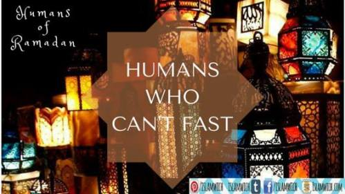 Humans who can't fast