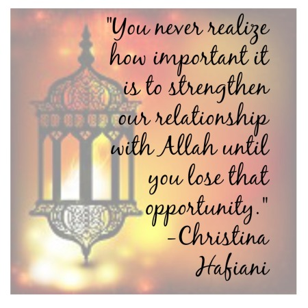 Christina Hafiani quote
