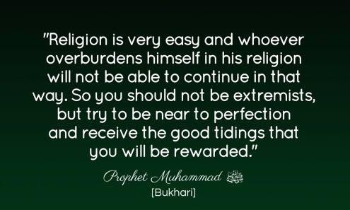extremist hadith