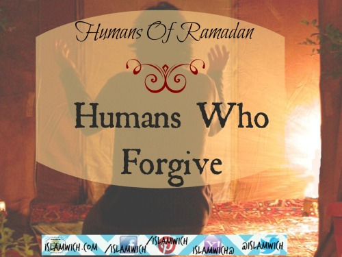 Humans Who Forgive