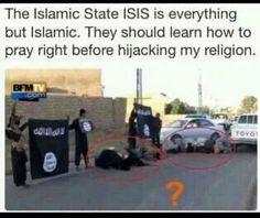ISIS praying wrong