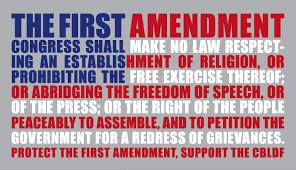 first amandment