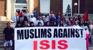 muslims against ISIS