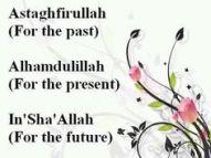 three mantras in Islam