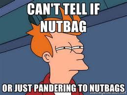 pandering