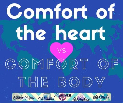 Comfort of the heart