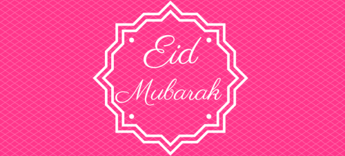 Eid in a can -pink