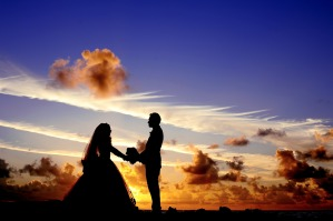 wedding-silhouette